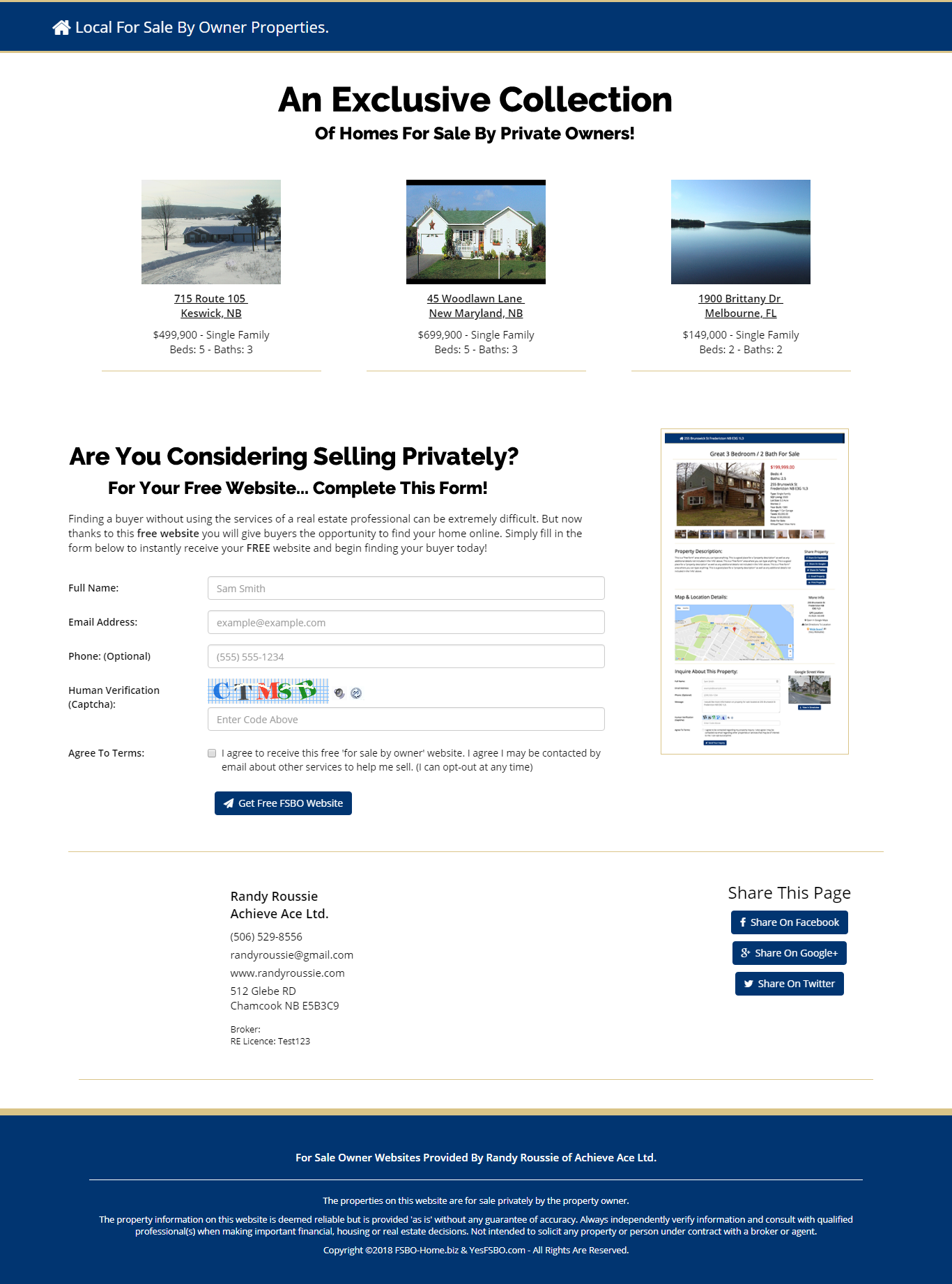 master fsbo website for real estate agents